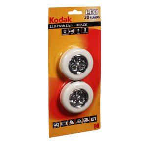 KODAK Lampe spot Push Light 2 pack - 30 lumens