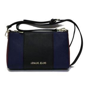 e2d65c893 Petit sac pochette ARMANI JEANS noir, bleu & bordeaux - Achat ...