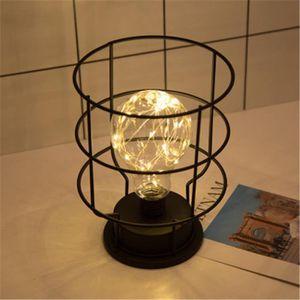 LAMPE A POSER  Lampe de table 20CM vintage rétro Lampe de chevet