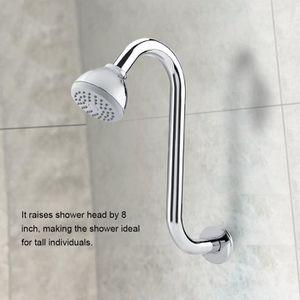 PORTE DE BAIGNOIRE Rallonge en S pour courbure de douche en acier ino