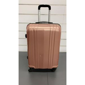 VALISE - BAGAGE Valise rosé moyenne taille