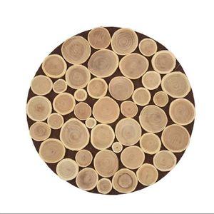 rondin bois deco achat vente rondin bois deco pas cher cdiscount. Black Bedroom Furniture Sets. Home Design Ideas