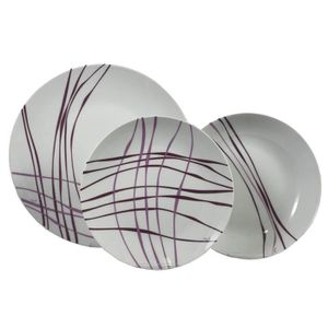 SERVICE COMPLET Topkapi Service de Table en Porcelaine 18 pièces R