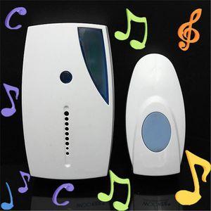 SONNETTE - CARILLON GETEK® numérique sans fil à domicile sonnette - pl