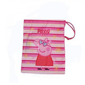 sac gouter sac souple peppa pig disney gym piscine ecole tiss - Jeux De Peppa Pig A La Piscine