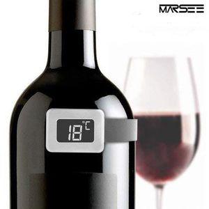 THERMOMÈTRE VIN Thermomètre à vin empérature Acier  Vin Thermomètr