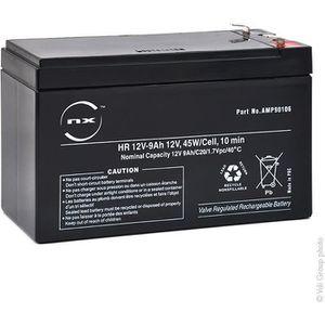 BATTERIE MACHINE OUTIL Batterie plomb AGM HR 12V-9Ah 12V 9Ah T2 - Batteri