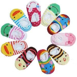 CHAUSSETTES Panlom® 4 Pairs Chaussettes chaussons Bébé Antidér
