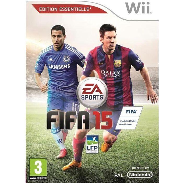 JEUX WII FIFA 15 Jeu Wii