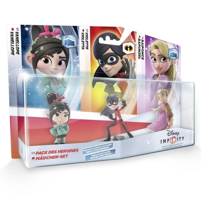 FIGURINE DE JEU Pack de 3 Héroïnes Disney Infinity  1.0