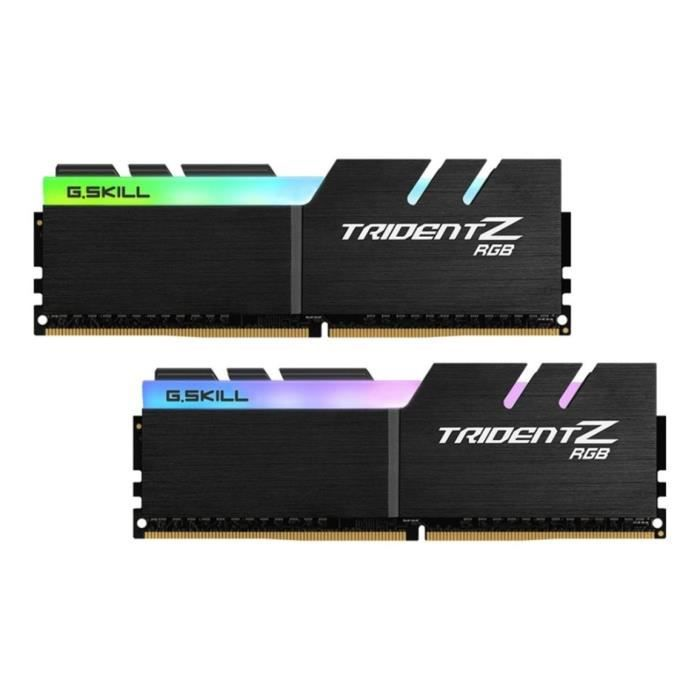 GSKILL PC4-21300 Mémoire PC - 2 x 8 Go - DDR4 - 2666 Mhz - CL18-18-18-43 - 1.2VMEMOIRE PC - PORTABLE