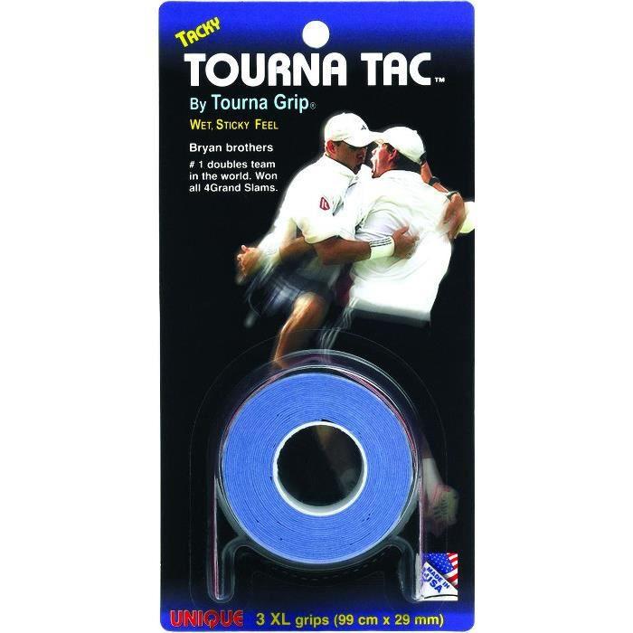 Surgrips Tourna Tac XL x 3 bleu