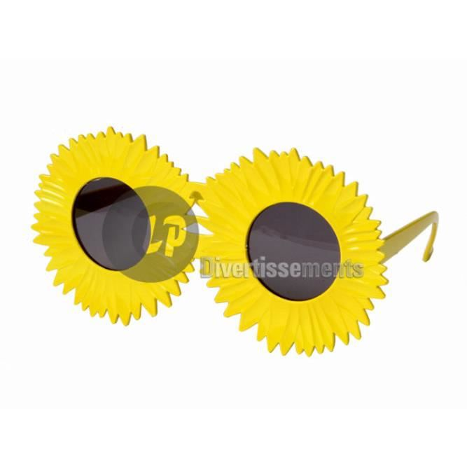 Lunettes gag tournesol - Achat   Vente accessoire déguisement ... c5fc83ae8a80
