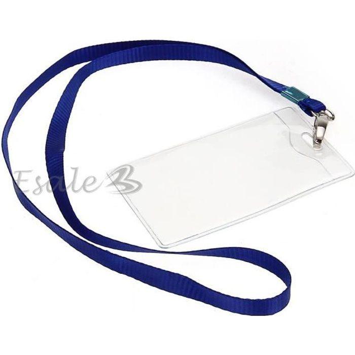 X Porte Badge Étui Protection Pour Carte De ID Travail Identité - Porte badge pas cher
