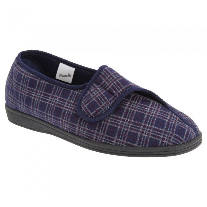 Sleepers Brett II - Chaussons velcro larges - Homme Vd0I6c