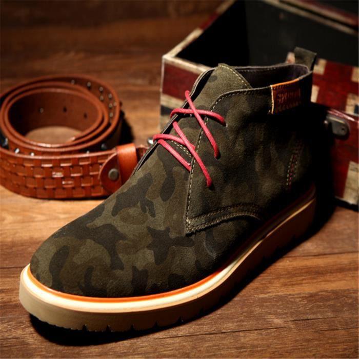 Chaussure Homme cuir mat de