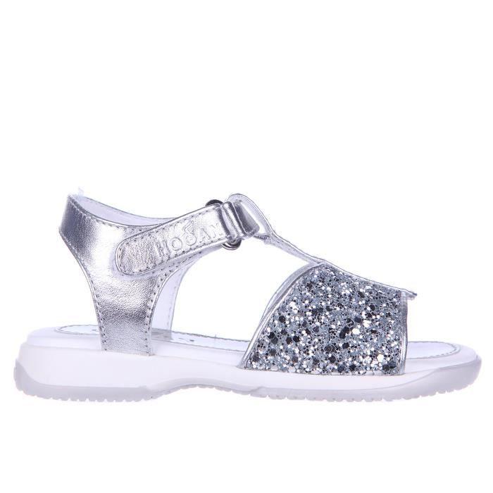 Sandales filles en cuir enfant j093 glitter Hogan