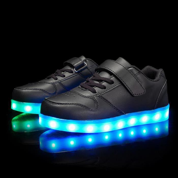 Chaussures Lumineuse a led pour les enfants usb rechargeables garçons ou fille Éclairage LED Mode Coloré Glow Chaussure