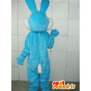 ... PANOPLIE Mascotte SpotSound Cdiscount - Taille L - personn. ‹› Mascotte  SpotSound Cdiscount - Taille L - personnalisable lapin bleu basique -  Costume ... 96c267c11d1