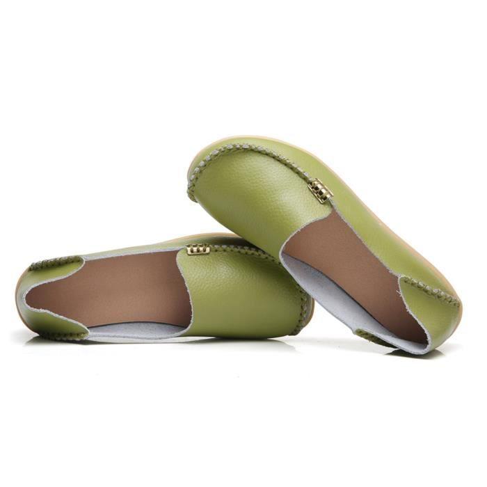 Confort naturel Marcher plat Mocassins UPW3I Taille-40
