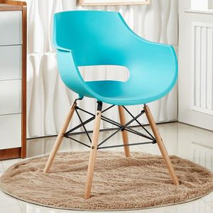 CHAISE Chaise Design Olivia Turquoise, Salle à Manger - S