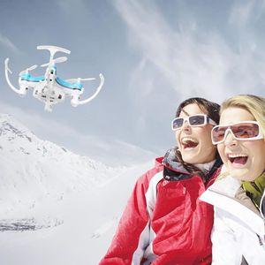 DRONE SCY61209101BU®Cadeau FY-601W Drone 2.4G 4CH 6-Axis
