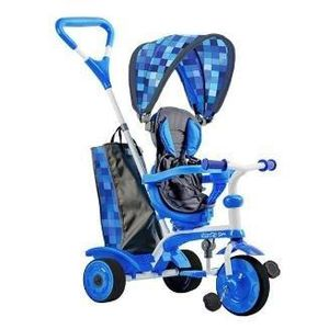 TRICYCLE STROLLY - Tricycle Evolutif Strolly Spin - Bleu