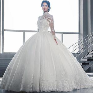 Belle robe de mariee longue
