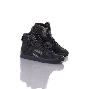 Chaussures De Sport Pour Les Hommes À La Vente, Plus Dstring, Noir, Cuir, 2017, 42 Diesel
