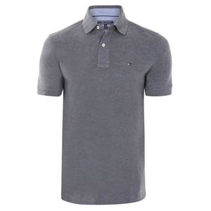POLO TOMMY HILFIGER Polo Homme  - Regular - Fit - Manch