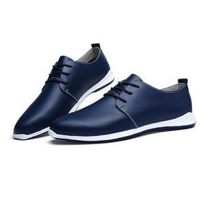 Mode Chaussures de conduite en cuir pour homme (noir, marron) Taille: 38-47,marron,43