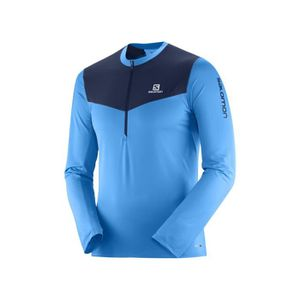 f6272134d75f MAILLOT DE RUNNING Maillot manches longues 1 4 zip Salomon Fast Wing