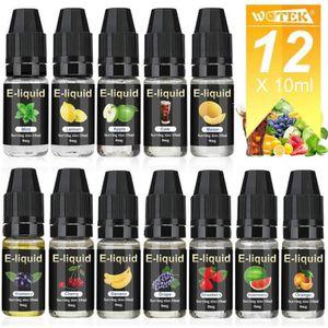 LIQUIDE 10 X 10ml E-liquide pour Cigarette Electronique Li