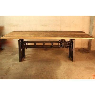 Table Industrielle Rehaussable Achat Vente Table A Manger Seule