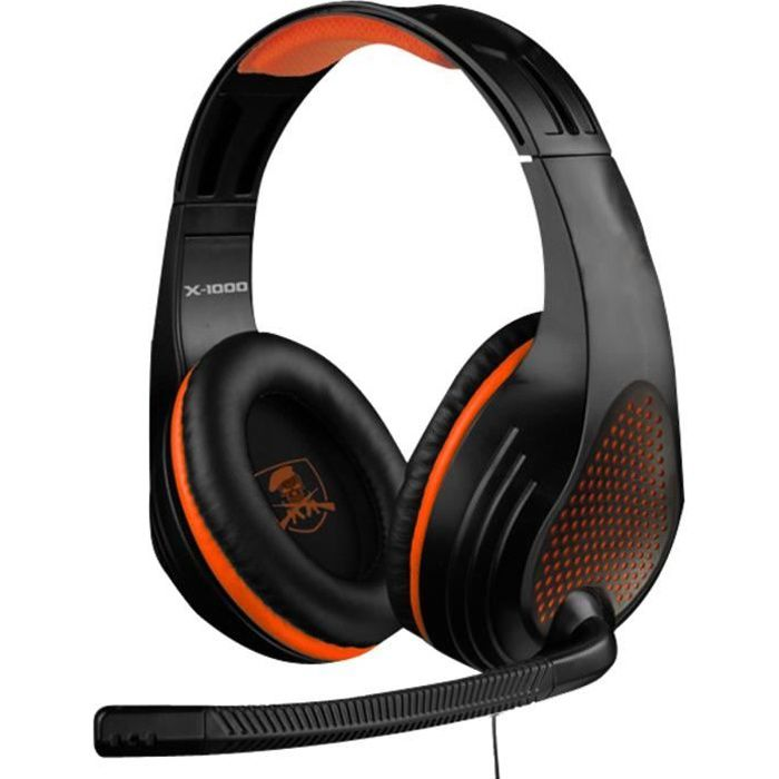 CASQUE  - MICROPHONE Casque X-Storm X-1000 PS3-PS4-XBOX 360-XBOX One-PC
