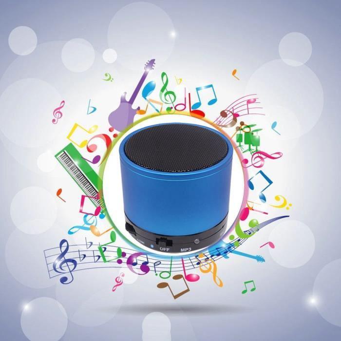 Portable Sans Fil Bluetooth Mini Super Bass Haut-parleur Pour Iphone - Samsung Tablette Pc Zpp80725001bu