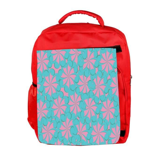 Eco Friendly Hommes Canvas Girly Motif Designer Sac à dos école Rucksack Voyage unisexe CANV Casual NXQEY