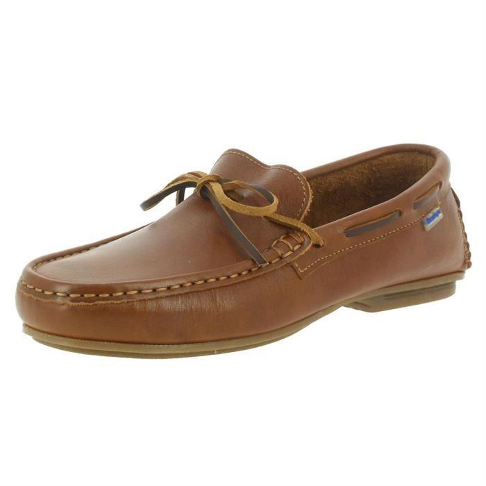 chaussures bateau 1311 homme himalaya 1311 44 Marron