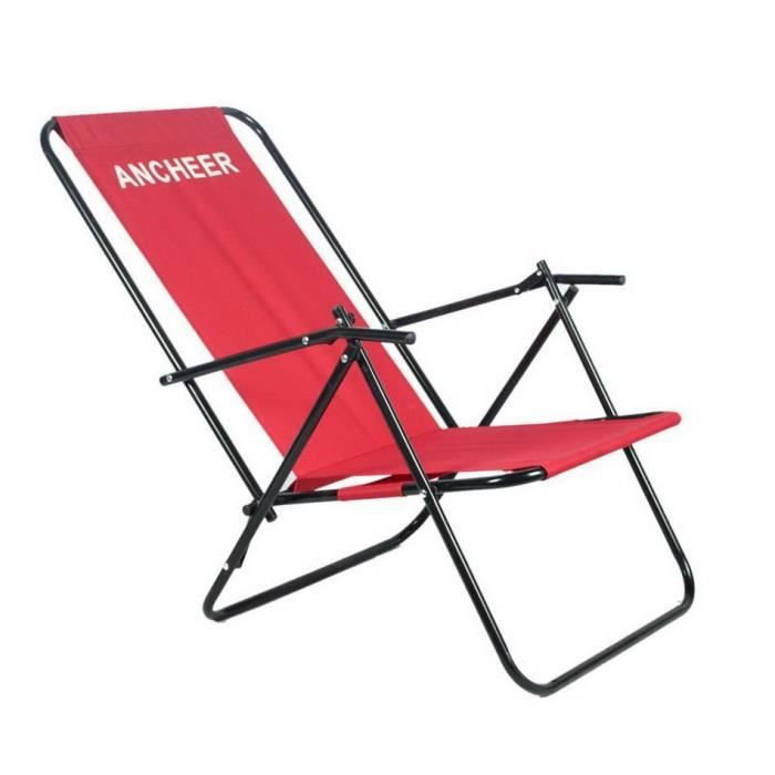 Chaise Pliante Inclinable Avec Camping Accoudoir Outdoor Achat oCxdBe