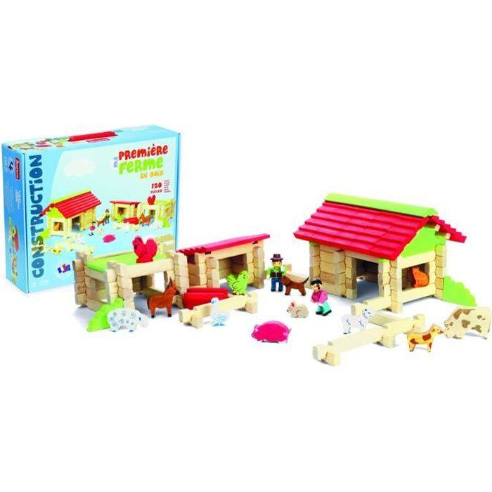 9d82bd3a2272c Grande ferme en bois - Achat   Vente jeux et jouets pas chers