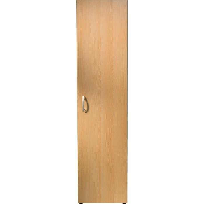 Armoire à étagères 1 Porte L 45 Chêne Pour Dressing Cellier