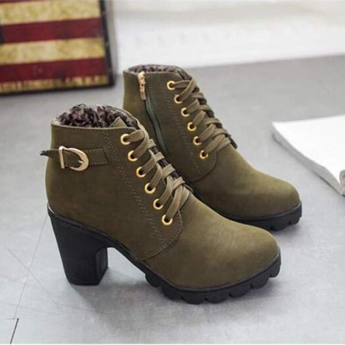 Femmes Bottes chaussures à talons hauts New Aut...