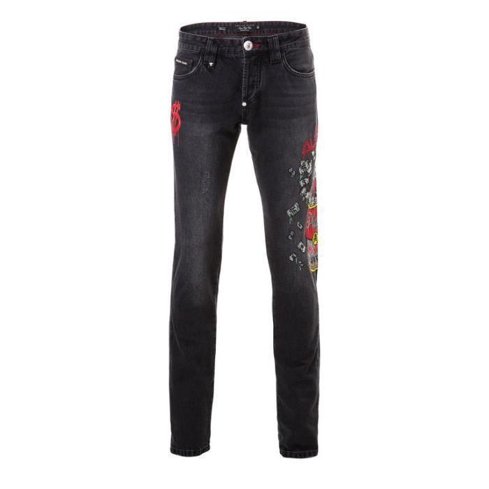 Jeans Noir Homme Philipp 2018 Collection Of Plein Money Soup vgq8Tq