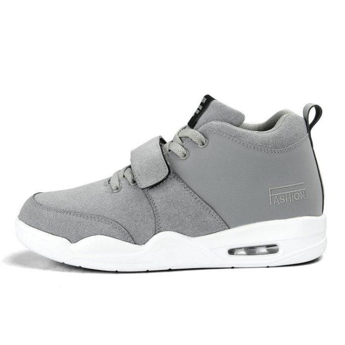 28f668ba2bbfe Chaussures De Tennis Homme Mode Compensé Slip-On Casual Confort AthléTique  Un Amorti Route Maintien Et Respirabilité Respirabilité