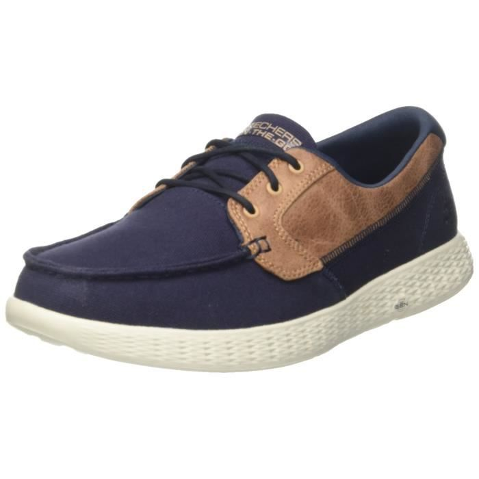 Chaussures Homme 53803 Taille Skechers Bleu 3x98hz 39 Bateau Pour wPkOTZXiu