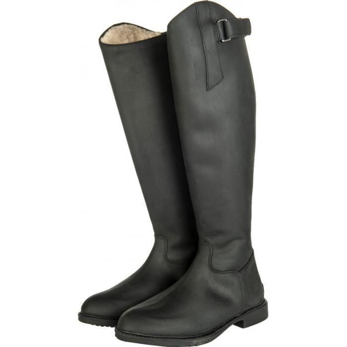 Bottes Flex Country 40 (L 38cm H 45.5cm) Noir
