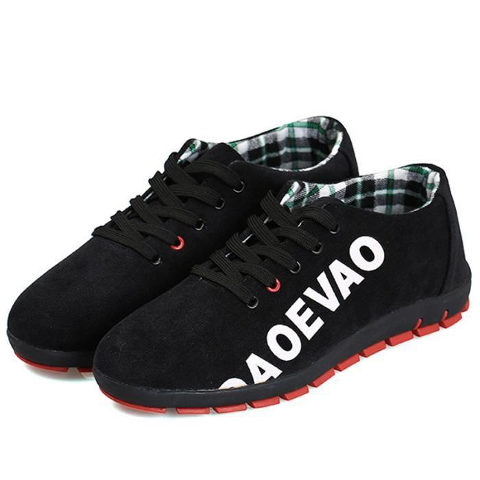 Course XZ123Noir43 De Chaussures De Pour Antidérapant Sport Populaire WYS Textile Hommes UYwCq