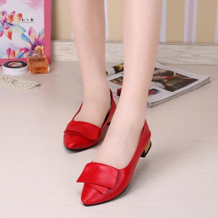 dames de la mode d'automne chaussures plates simples chaussures plates occasionnels,blanc,36