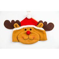 VILLAGE - MANÈGE Décorations de Noël de bonhomme de neige de chapea