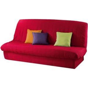 housse de clic clac avec bande de socle achat vente pas cher. Black Bedroom Furniture Sets. Home Design Ideas